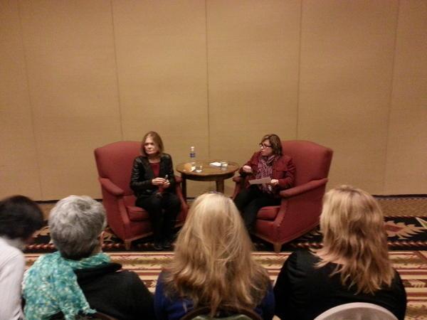 Katherine Lanpher Interviews Gloria Steinem at JAWS