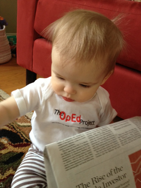 Next Generation OpEd Project:  never to early to have an opinion!