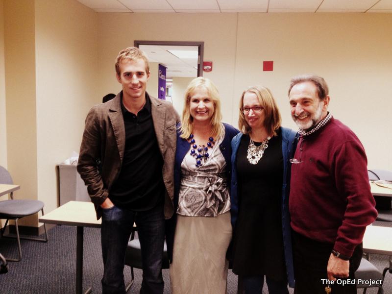From left: Weldon Rogers, Michele Weldon, Deborah Siegel, and Allen Siegel